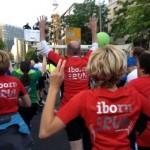 13 ibo-ler beim J.P. Morgan Firmenlauf in Frankfurt
