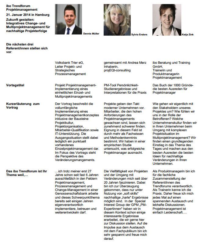 Zukunft gestalten: Integratives Change- und Multiprojektmanagment für nachhaltige Projekterfolge, Teil 2