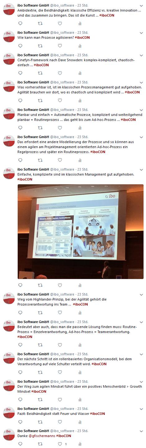 Tweets zum agilen Prozessmanagement 2