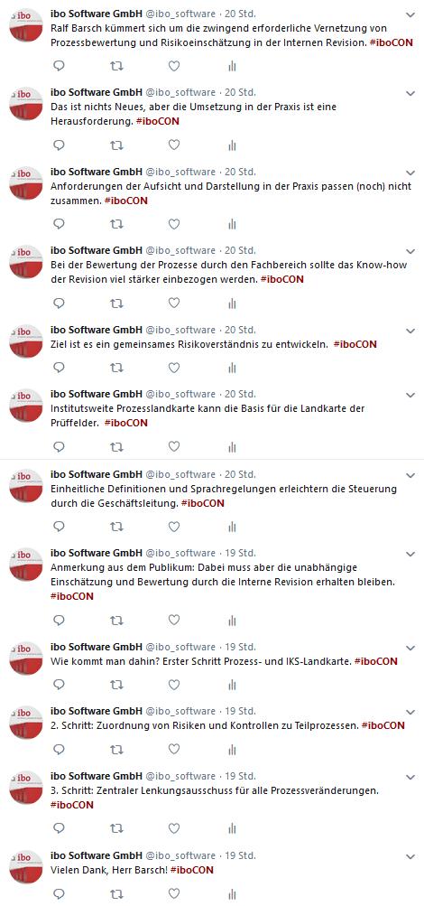 Tweets zur gemeinsamen Risikodefinition