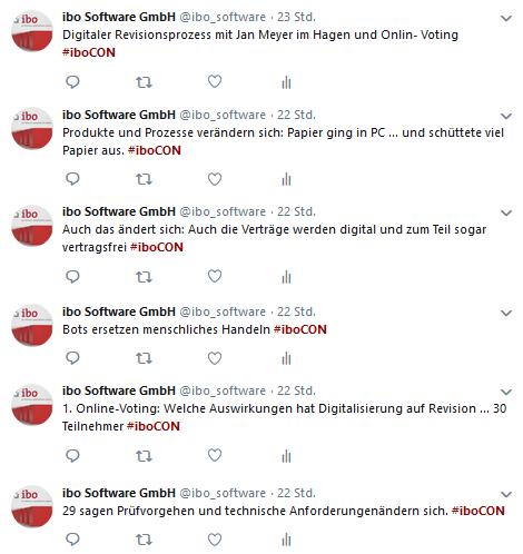 Tweets zum digitalen Revisionsprozess 1