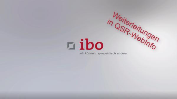 Video-Grafik zu QSR-WebInfo Veröffentlichungen weiterleiten