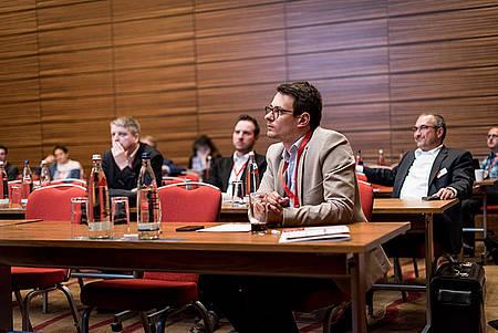 Workshop-Teilnehmer auf der iboCON