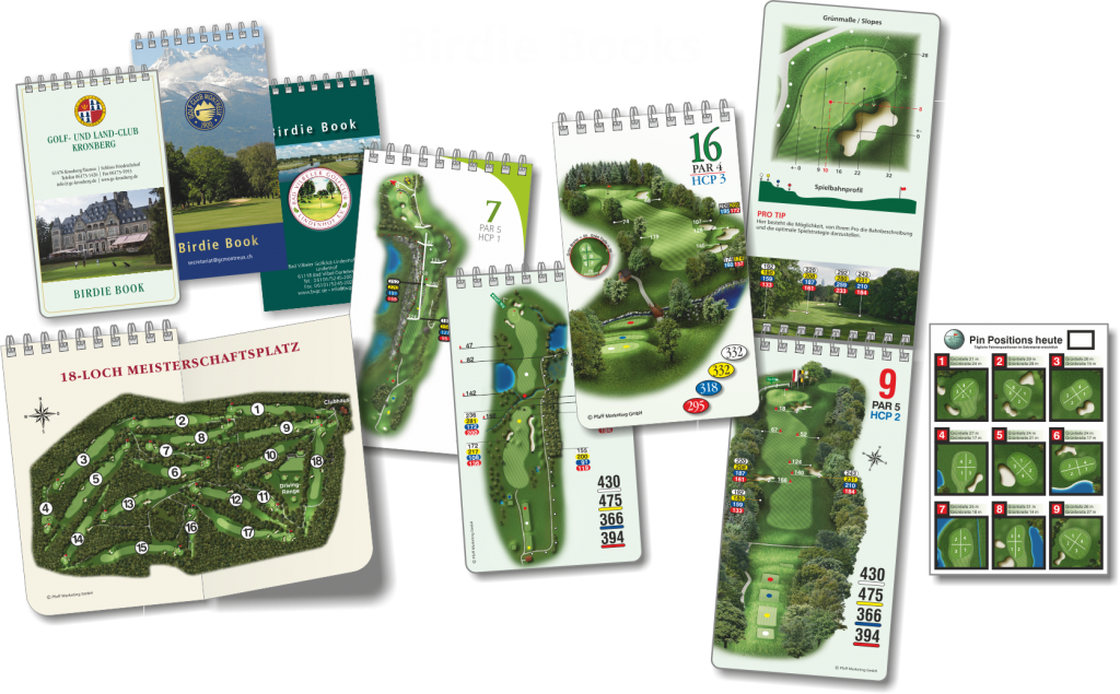 Birdie Book - mit freundlicher Genehmigung von http://www.pfaffgolf.de