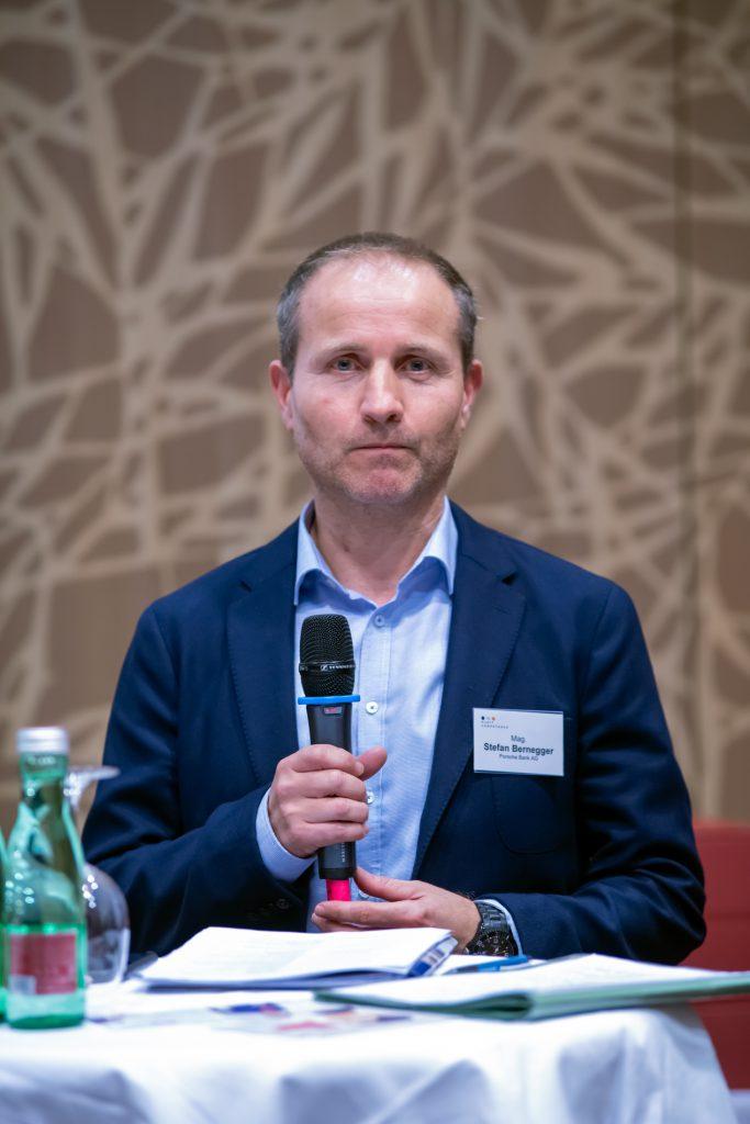 Stefan Bernegger, Porsche Bank