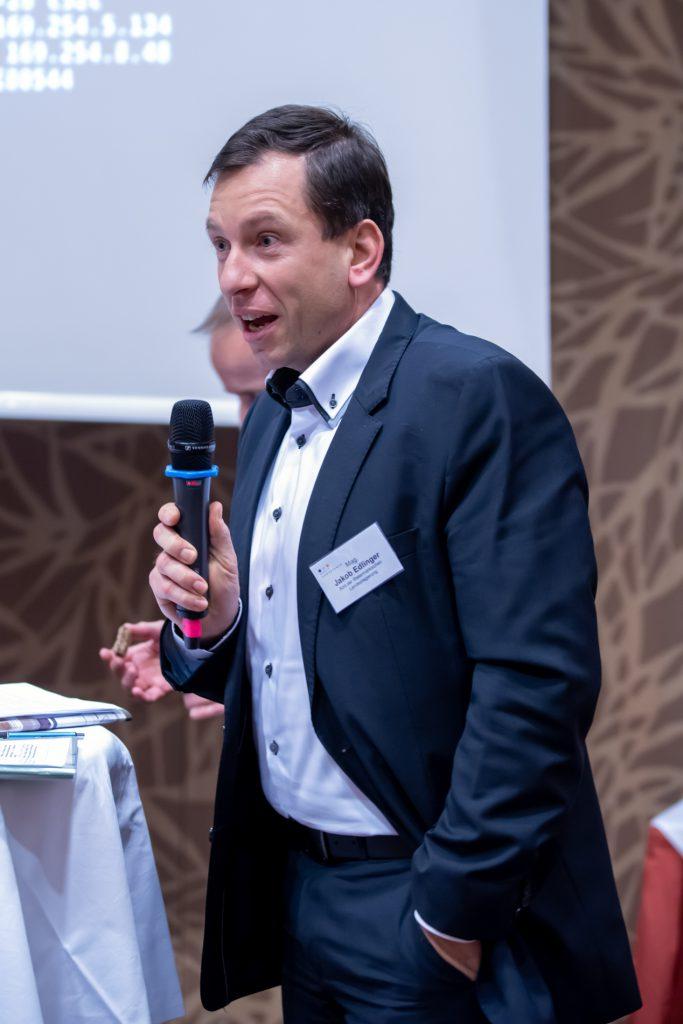 Jakob Edlinger, Amt der Steiermark