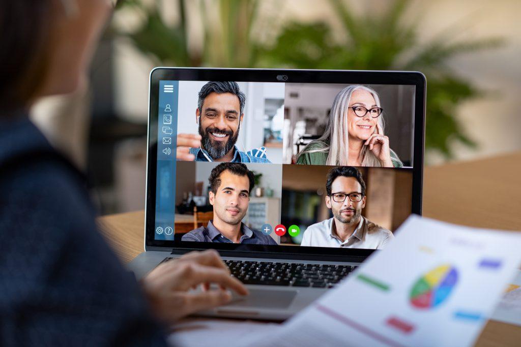 Online-Beratung über den PC